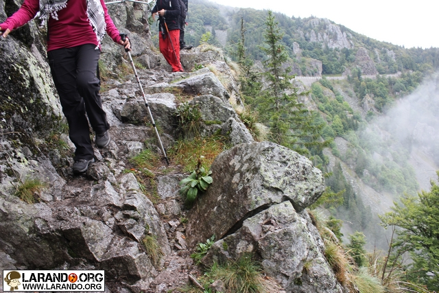 rando sentier des roches